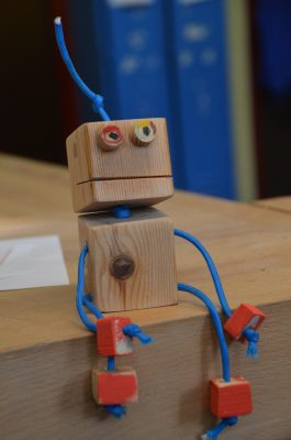 Wir bauen Roboter.
